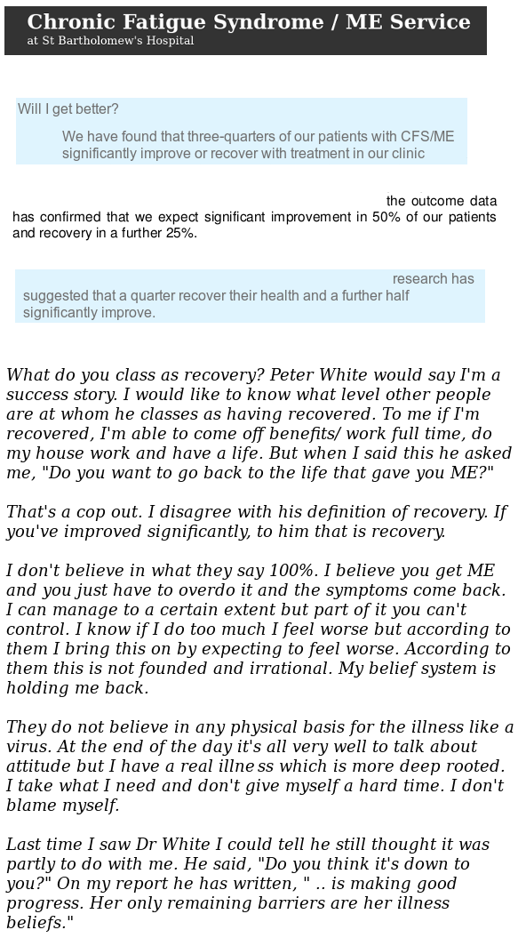 PDW patient complains about his defn of recovery.png