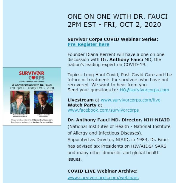 Suvivor Corps Dr. Fauci Webinar Oct 2 2020.JPG