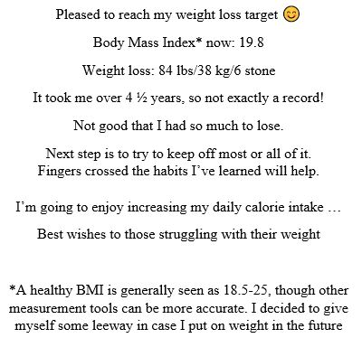 weight loss announcement.JPG